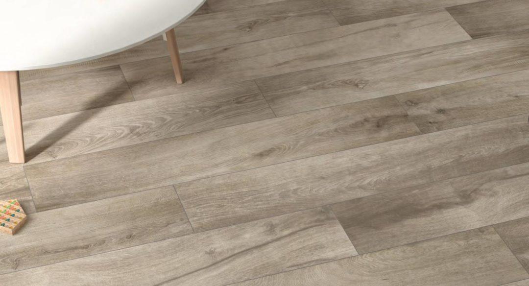 Carrelage imitation bois grand format intérieur en grès cérame grand passage : Myrscella