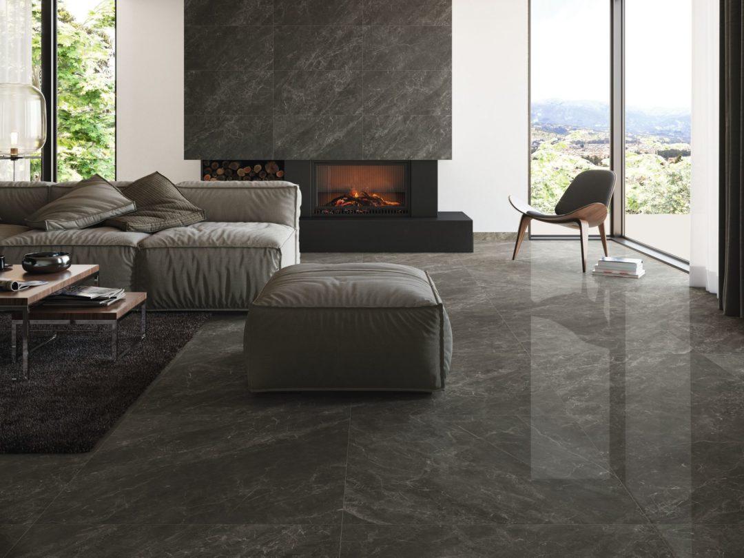 Carrelage imitation marbre en grès cérame pour le sol : Balmoral