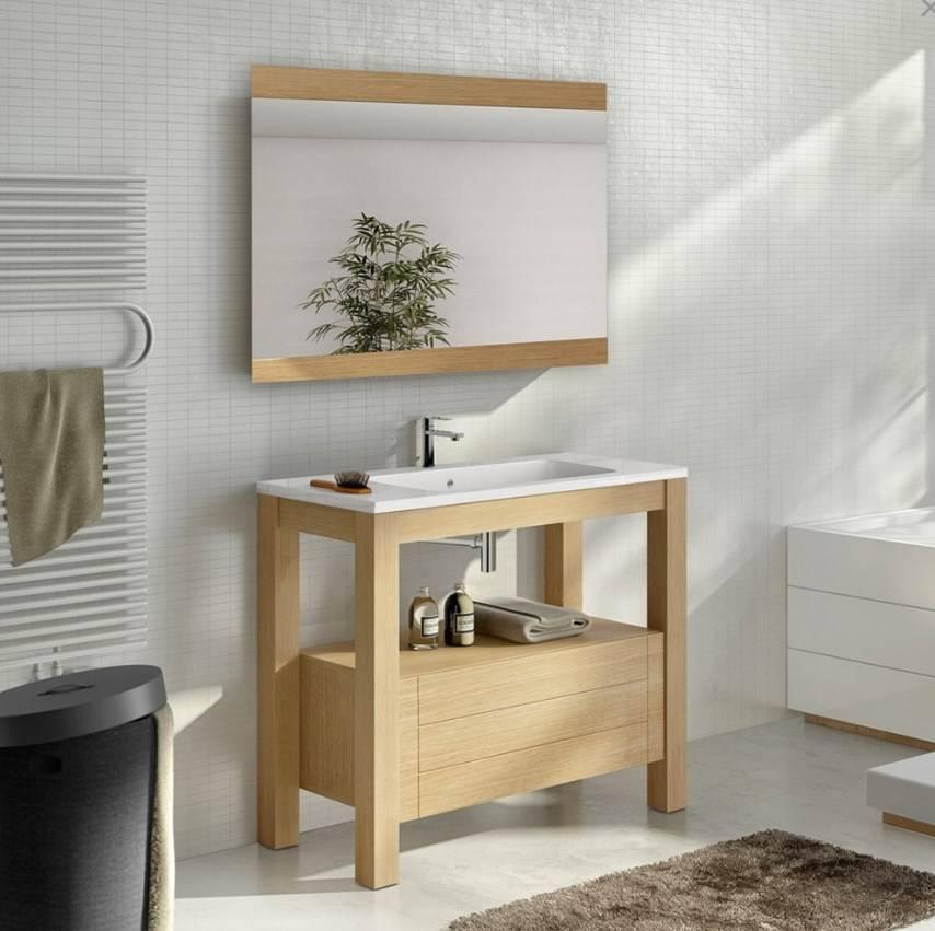 Meuble de salle de bain bois mérignac : Moa