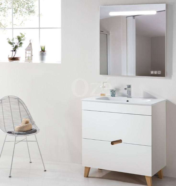 Meuble de salle de bain simple ou double vasque