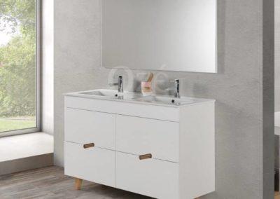 Meuble de salle de bain simple ou double vasque proche de Mérignac : Cosy