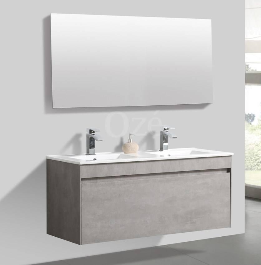 Meuble de salle de bain suspendu Agate