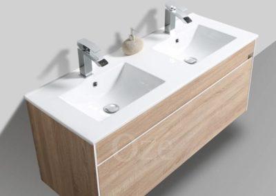 Meuble de salle de bain suspendu : Agate