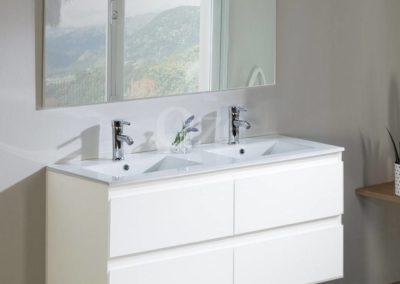 Meuble de salle de bain suspendu de qualité au meilleur prix Bordeaux : Come
