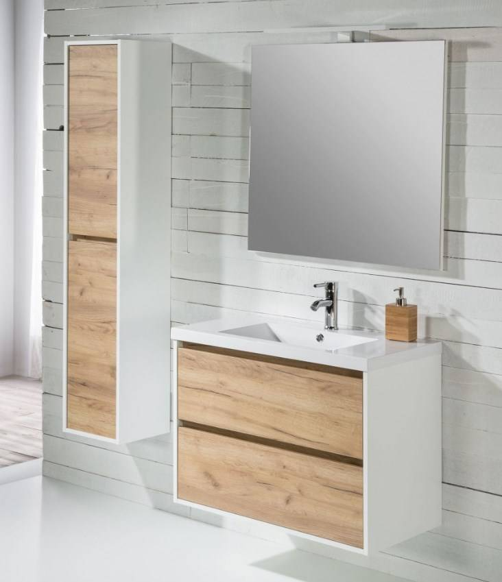 Meuble de salle de bain suspendu proche cenon birdie