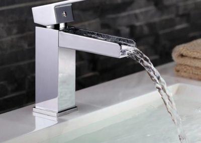 Mitigeur de lavabo cascade Gironde : Théta
