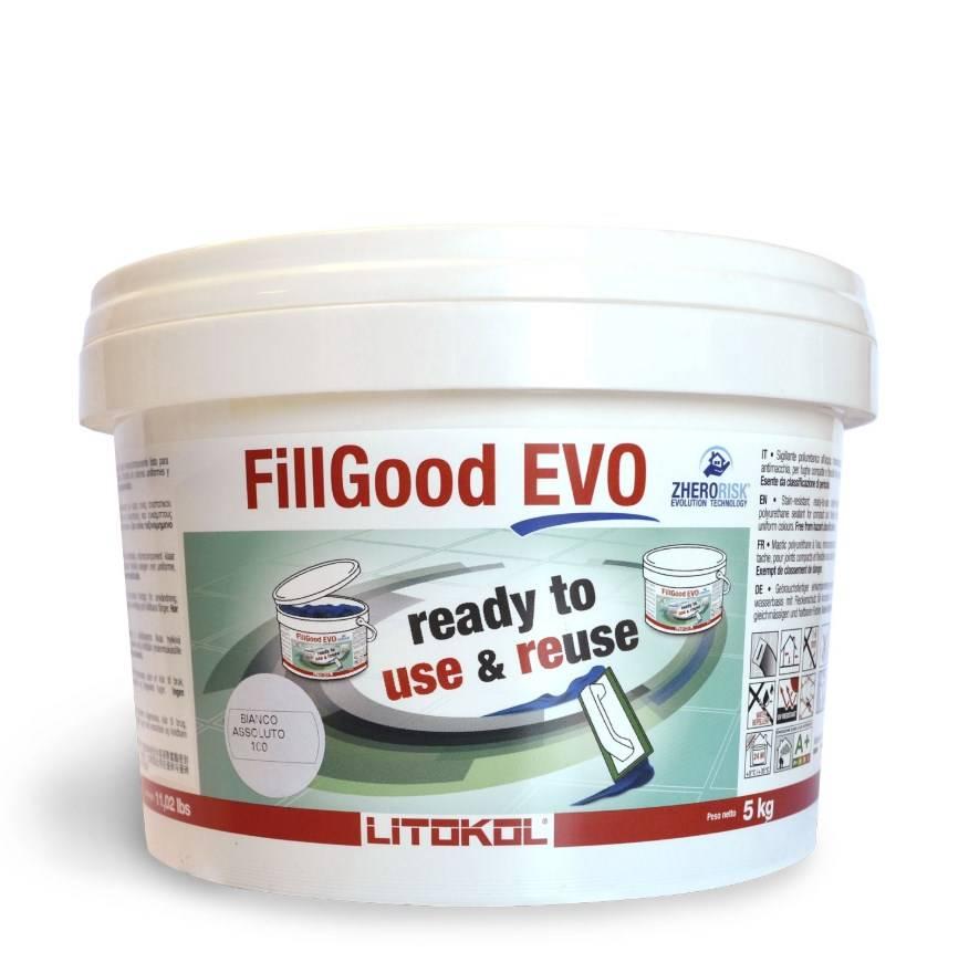 Joint tout prêt et réutilisable pour carrelage et mosaïque : Fillgood Evo