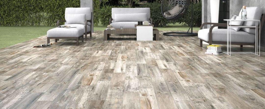 Carrelage imitation parquet extérieur antigel : Lumber
