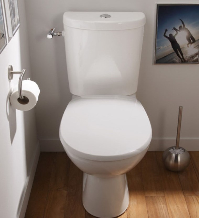 WC à poser en céramique standard NF