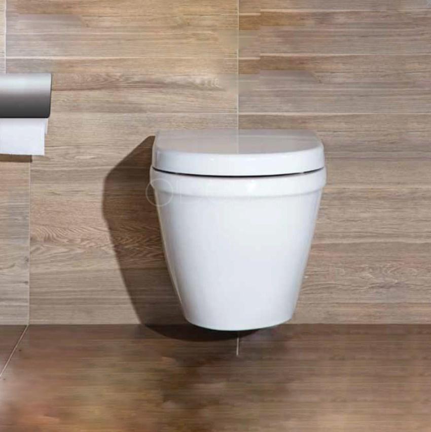 Cuvette WC suspendu sans bride NF CUV-C