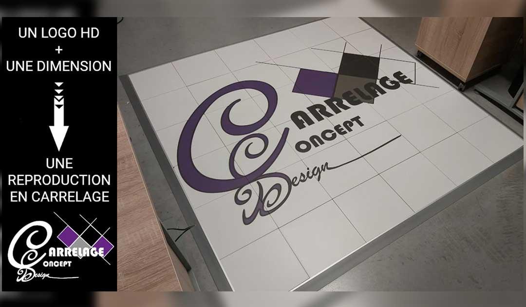 Un logo ou un décor sur mesure pour les professionnels et les particuliers