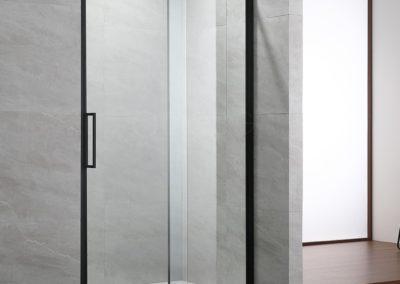 PAROI FIXE AVEC PORTE COULISSANTE DELISS 120cm