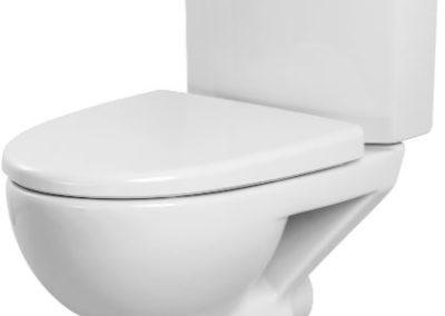 WC à poser en céramique sans bride Velvet SH