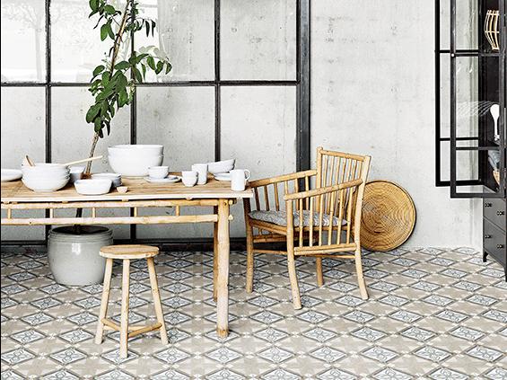 Carrelage imitation carreau ciment: Série Gabana