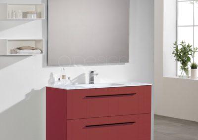 Meuble simple ou double vasque : Collection ALINA