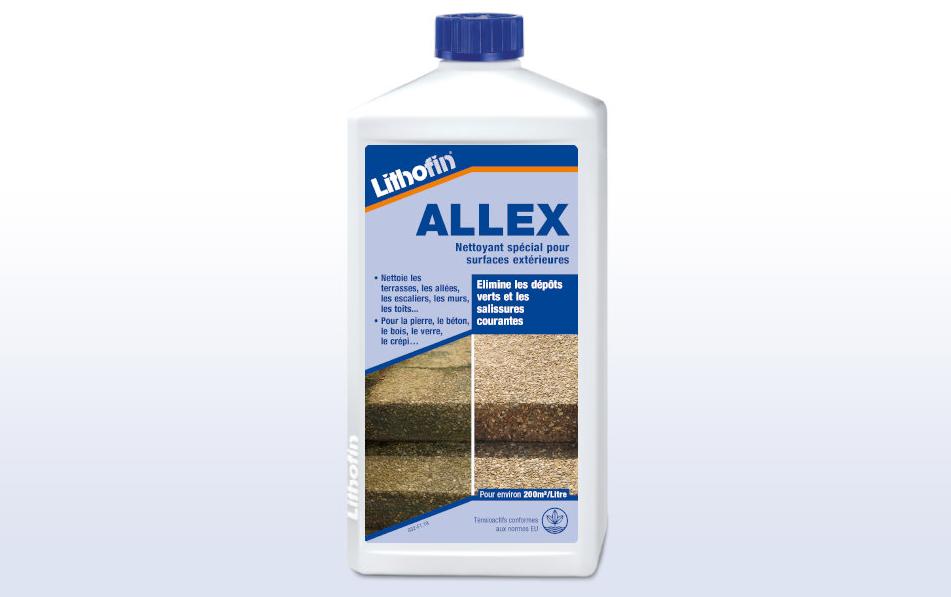 Lithofin ALLEX Nettoyant pour surfaces extérieures