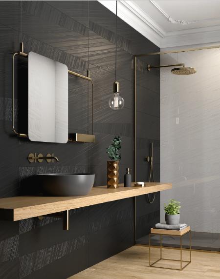 Carrelage salle de bain Série Piper 30×90